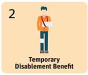 Temp disablement benefit